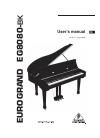 Behringer EUROGRAND EG8080