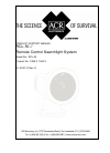 ACR Electronics RCL-50 Product Support Manual 20 pages