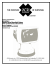 ACR Electronics RCL-600A - SCHEMA REV A Product Support Manual 12 pages