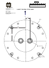 ACR Electronics RCL-600A - SCHEMA REV A Mounting Template 1 pages