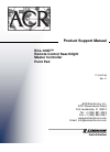 ACR Electronics RCL 100 Product Support Manual 20 pages