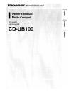 Pioneer CD-UB100