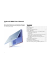BenQ Joybook 8000 Operation & User's Manual 29 pages