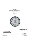 Symmetricom ND-CLK Operation & User's Manual 55 pages