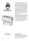 ADJ Dotz Bar 1.4