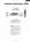 Integra DPS-6.9 Service Manual 65 pages