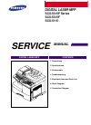 Samsung SCX-5315F Service Manual 103 pages