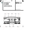 Kenwood X-S300 Service Manual 15 pages