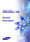 Samsung OFFICESERV 100 Series General Description Manual 90 pages