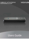 Medialink MWN-USB150N Operation & User's Manual 28 pages