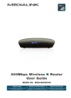 Medialink MWN-WAPR300N Operation & User's Manual 67 pages
