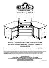 Napoleon Modular cabinet