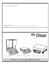 Citizen Swift 90 Operating Manual 68 pages