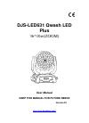 djlighting DJS-LED631 Operation & User's Manual 11 pages