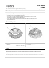 GigaTera Luna Operation & User's Manual 4 pages