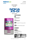 Nokia RM-627 Service Manual 20 pages