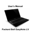 Packard Bell EasyNote LV Operation & User's Manual 114 pages