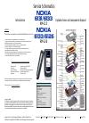 Nokia 6126 - Cell Phone 10 MB Service schematics