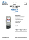 Nokia N 80 Service Manual 26 pages