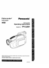 Panasonic Palmcoder PalmSight PV-L691