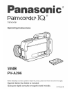 Panasonic Palmcorder PV-A296