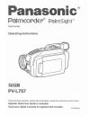 Panasonic Palmcorder PV-L757