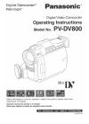 Panasonic PV-DV800