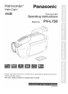 Panasonic PV-L750