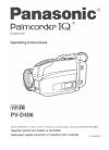 Panasonic PVD406 - CAMCORDER