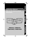Regent TMQ150 Instruction Manual 16 pages