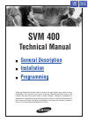 Samsung SVM-400 Operation & User's Manual 74 pages