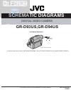 JVC GR-D93US Schematic diagrams