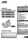 JVC GR-SXM335