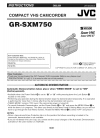 JVC GR-SXM750 Instructions manual
