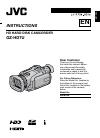 JVC GZ HD7 - Everio Camcorder - 1080i