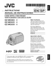 JVC GZ-MG330U Instructions manual
