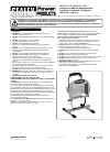 Sealey LED109C Instruction Manual 2 pages