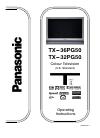 Panasonic TX-36PG50