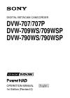 Sony DVW-707