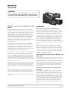 Sony HANDYCAM PMW-320L