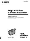 Sony Handycam Vision DCR-TRV9