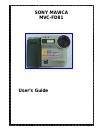 Sony MVC-FD81