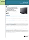 Sony KDL-W6W3000