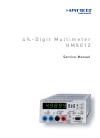 Hameg HM 8012 Service manual