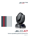 JB LEDA7 Operating Instructions Manual 36 pages