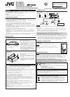 JVC KS-AX3204 Instructions Manual 12 pages