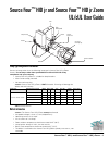 Electronic Theatre Controls Source Four HID jr Operation & User's Manual 4 pages