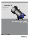 Hensel Integra Mini 300 Operation & User's Manual 31 pages