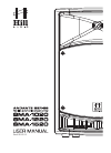 Hill Audio SMA-1020 Operation & User's Manual 12 pages