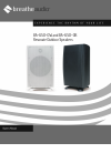 BreatheAudio Resonate Outdoor Speakers BA-650-OB Installation Manual 5 pages
